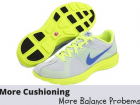 support and cushion running shoes